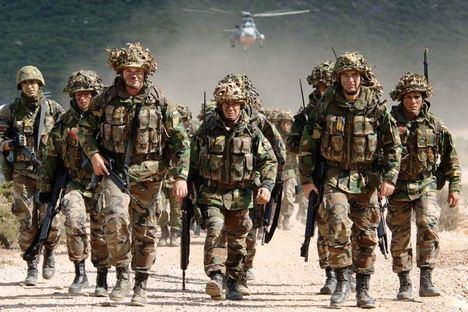 Infantería de Marina Española. Unidad de élite. (Foto: https://www.taringa.net/)
