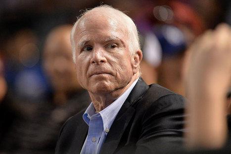 John McCain (1936-2018). Ex senador de los Estados Unidos.