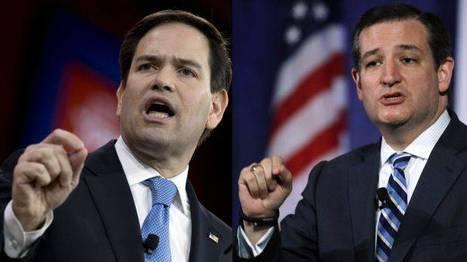 Marco Rubio y Ted Cruz: Hispanos que aspiran a la Casa Blanca