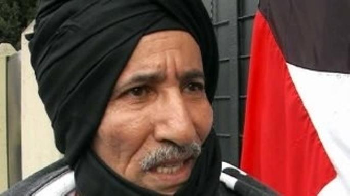 Brahim Ghali, líder del Frente Polisario y presidente de la RASD