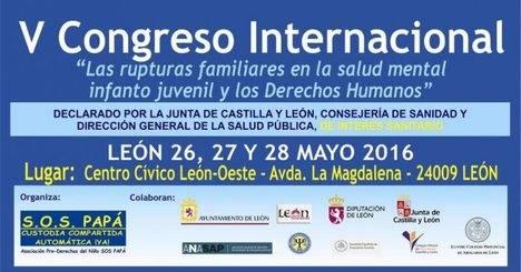 Comienza el V Congreso Internacional sobre el Síndrome de Alienación Parental con la protesta feminista del 'Comando Reacciona'