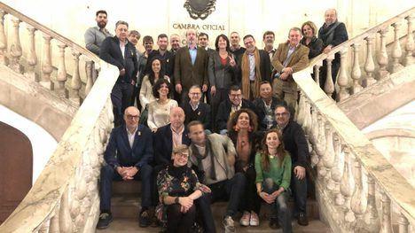 La candidatura de ANC, ganadora en las últimas elecciones de la Cámara de Comercio Catalana.