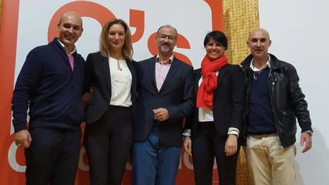 Sadat Maraña, Ruth Santín, Luis Fuentes, Rosa Luna y Juan Carlos Fernández (Archivo: La Nueva Crónica.com)
