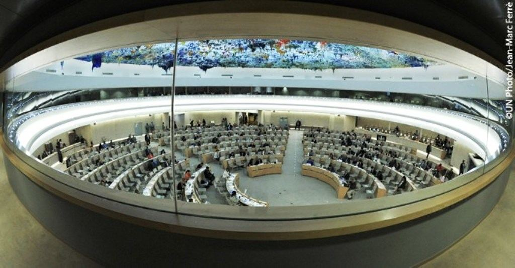 El Consejo de Derechos del Hombre, en Ginebra. (Foto: https://es.unesco.org  / Jean Marc Ferrè)