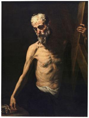 Andrés el Apóstol. José de Ribera. Museo del Prado. Madrid