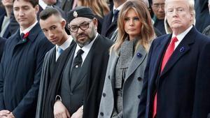 Donald Trump y Mohamed VI, Rey de Marruecos. (Foto: 20 Minutos)