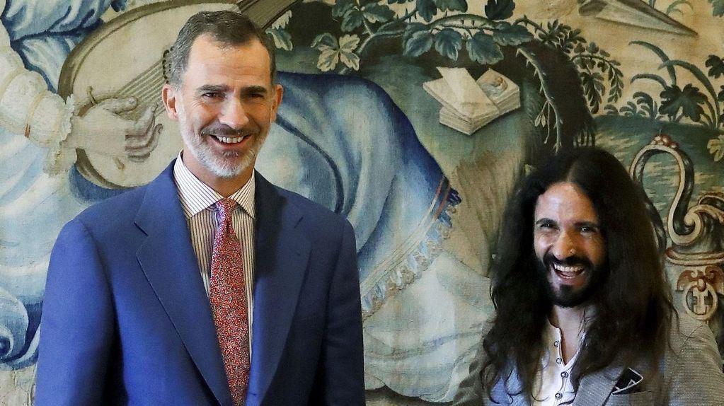 El Rey de España y el presidente del parlamento balear. (Foto: EFE)
