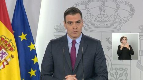 El presidente Sánchez presenta la 'desescalada en cuatro fases' (Foto: www.elperiodico.cat)