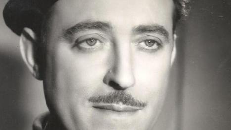 Fernando Fernández de Córdoba, el locutor que leyó 'El Parte' por antonomasia. (Foto: ABC)