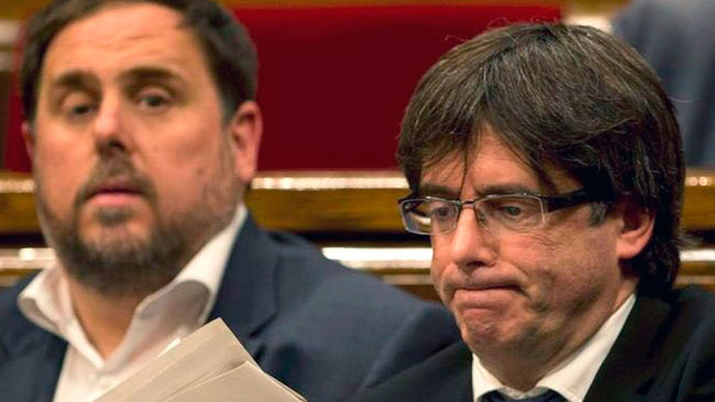 Junqueras y Puigdemont: los reyes del mambo catalanista