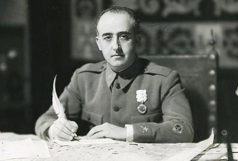 El General Francisco Franco Bahamonde en los años 40 del pasado siglo. (Foto: https://www.abc.es/).