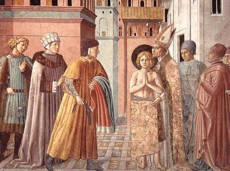 Renuncia (Benozzo Gozzoli, 1421 - 1497)