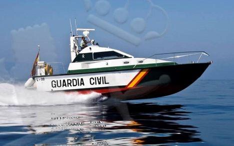 La Guardia Civil en su lucha contra el narcotráfico en el  Campo de Gibraltar. (Foto: https://noticiasgibraltar.es/).