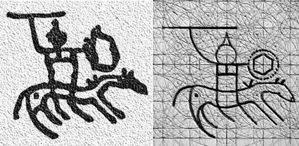 Guerreros neolíticos. Petroglifos de Val Camónica. Italia