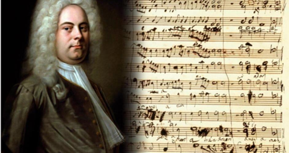 Händel y 'El Mesías'. (Ilustración: www.elviolin.com)