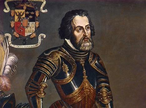 Hernán Cortés. Foto: www.mexicoescultura.com