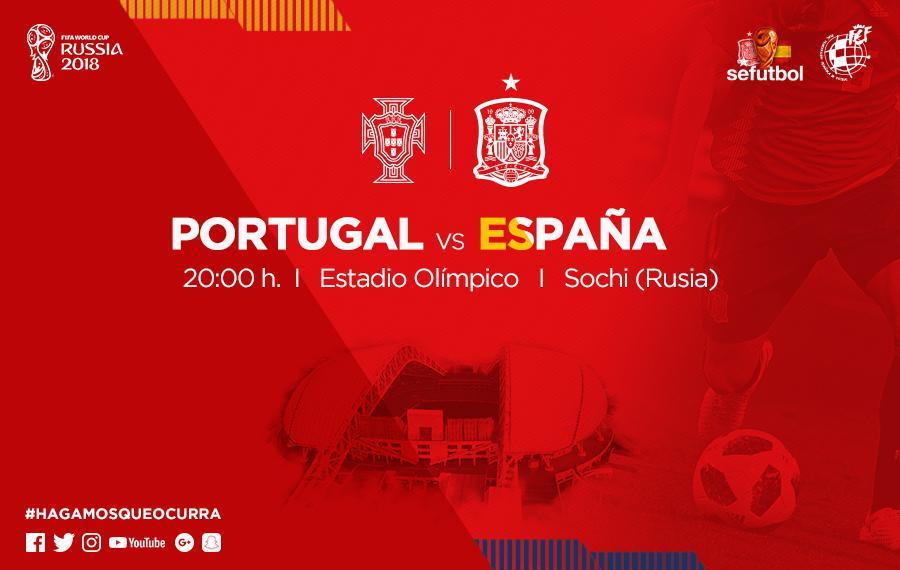 Debut de España en el Mundial de Rusia 2018