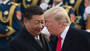 Los presidentes de China y EEUU, Xi Jinping y Donald Trump. (Foto: www.cnn.com).