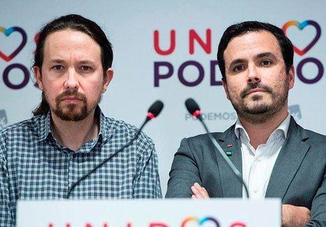 Pablo Iglesias y su convidado de piedra Alberto Garzón, la irresponsabilidad en el poder, activan la 'alerta antifascista'. ¡Jesús qué gente! Y encima se lo creen...