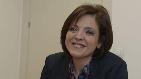María del Carmen Pastor Carro, portavoz del grupo municipal de Ciudadanos en Villaquilambre y una de las expulsadas