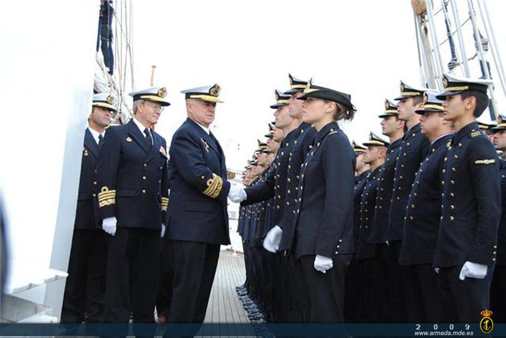 Crucero de instrucción del Buque Escuela 'Juan Sebastián de Elcano'. (Foto: https://armada.defensa.gob.es/).