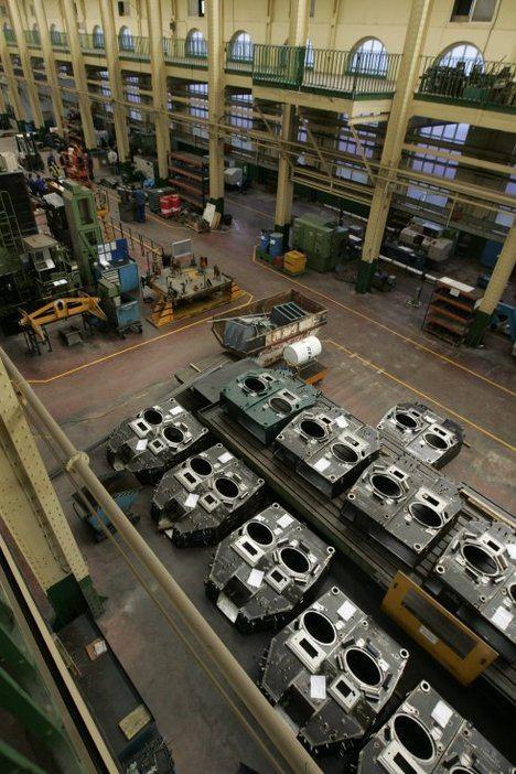 Fábrica de armas en Trubia. (Foto: El Comercio).