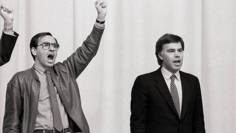Alfonso Guerra y Felipe González. (Foto: www.teinteresa.es)