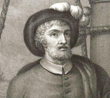 Juan Sebastián Elcano (1476 - 1526). Marino español que completó la primera vuelta al mundo.