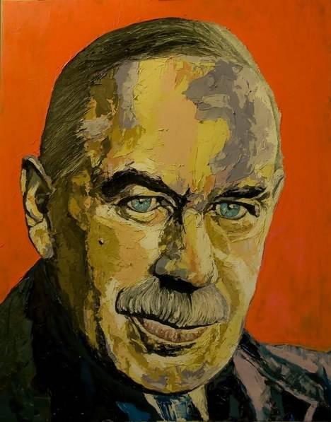 John M. Keynes. (Ilustración: facciamosinistra.blogspot.com)