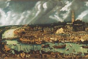 Sevilla - Europa en el siglo XVI. Ilustración: www.historiadelnuevomundo.com