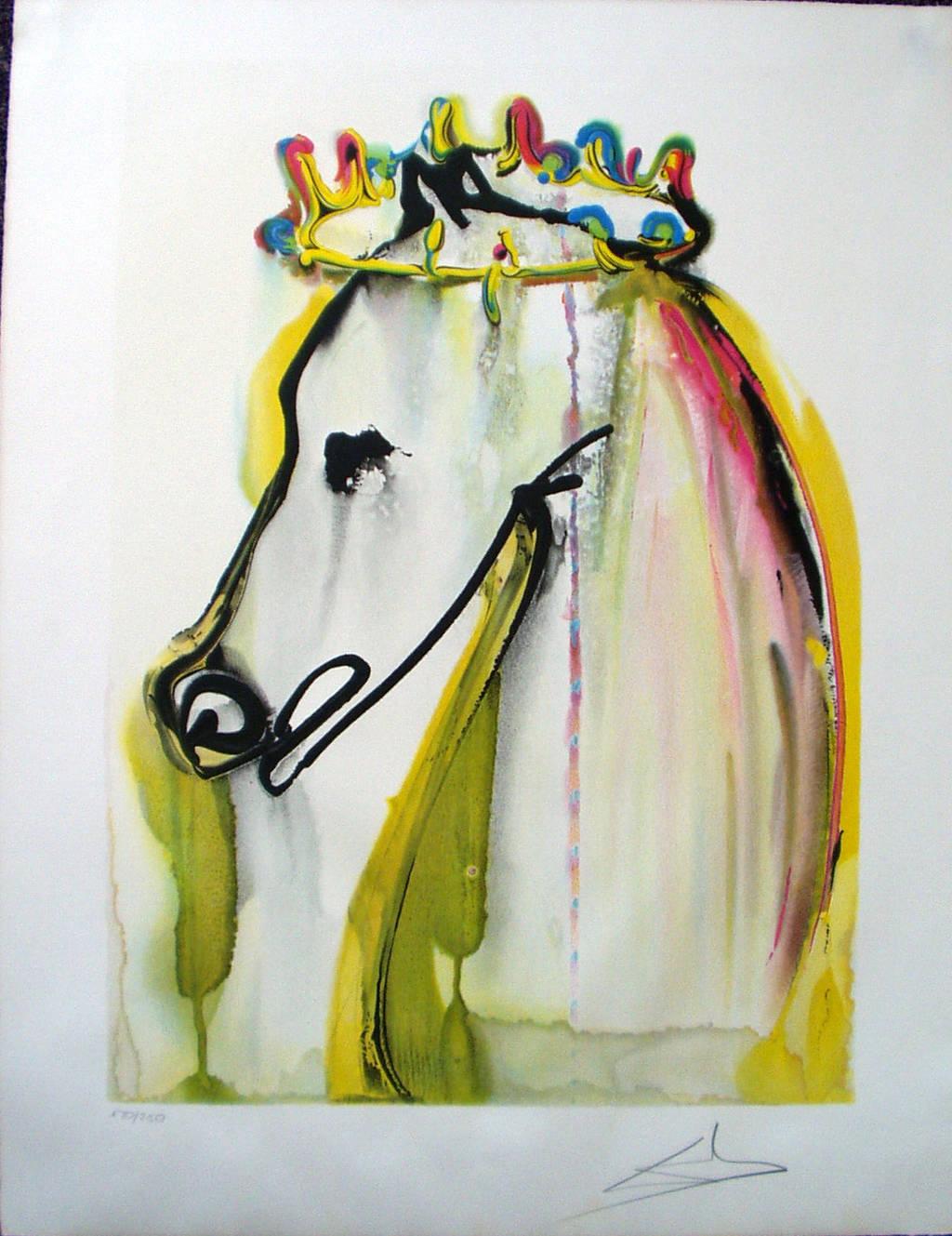 El caballo de Calígula. Salvador Dalí