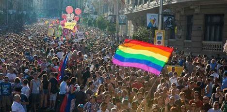 Desfile del Orgullo, Madrid 2019. Foto: www.travelgay.com