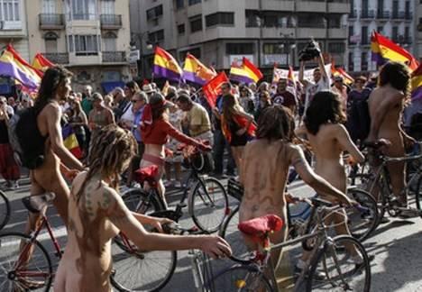 Manifestación en Valencia a favor de la república. (elperiodico.com / Agustín Catalá)