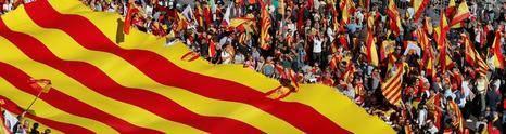 La Cataluña española en la calle