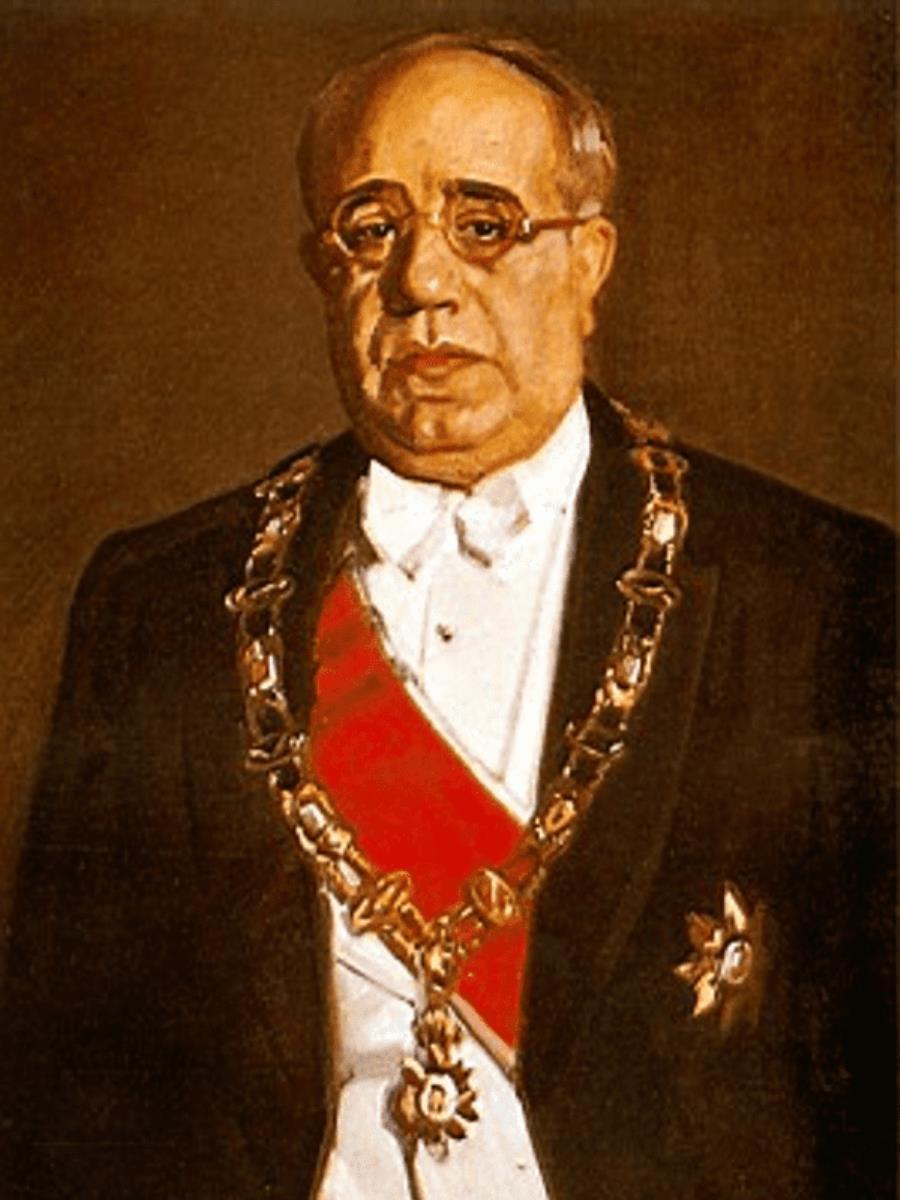 Manuel Azaña, Presidente de la Segunda República en mayo de 1936.