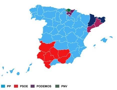 Nuevo mapa político y partidos emergentes