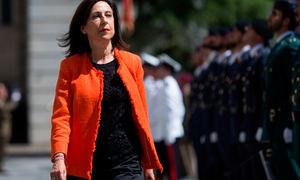 Margarita Robles, ministra de Defensa de España en el gobierno de Pedro Sánchez. (Foto: www.avionrevue.com)