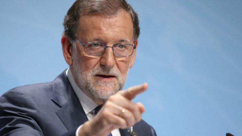 El Presidente Mariano Rajoy aplica el artículo 155 de la Constitución Española
