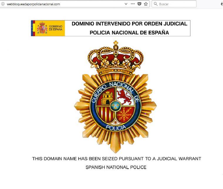 Intervenida por la Policía la web mejortorrent.com
