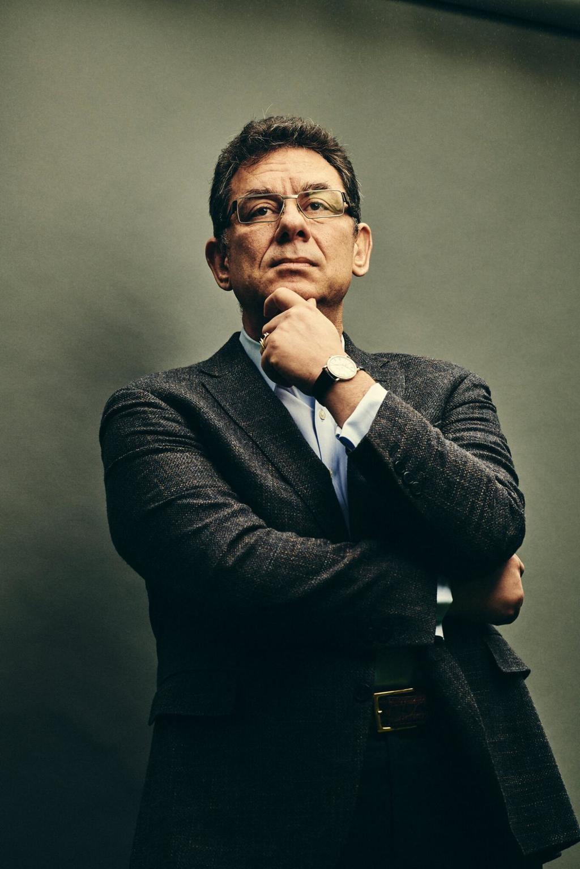 Albert Bourla, director general de Pfizer. (Foto: Bryan Derballa para The New York Times)