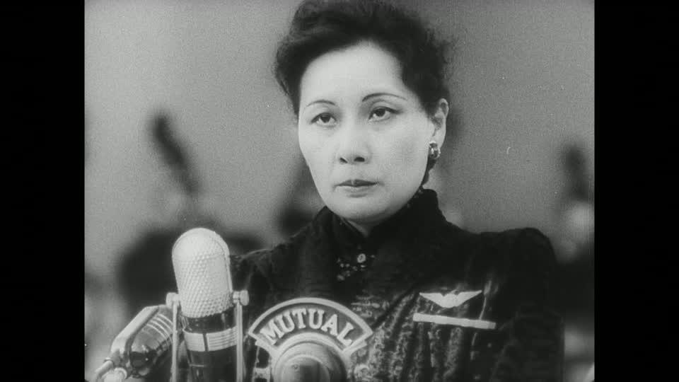 Madame Chiang Kai-shek en Hollywood (1943).