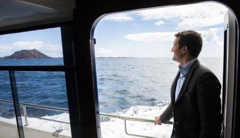 Pablo Casado, de paseo por esos mares de Dios. (Foto: https://www.businessinsider.es/).