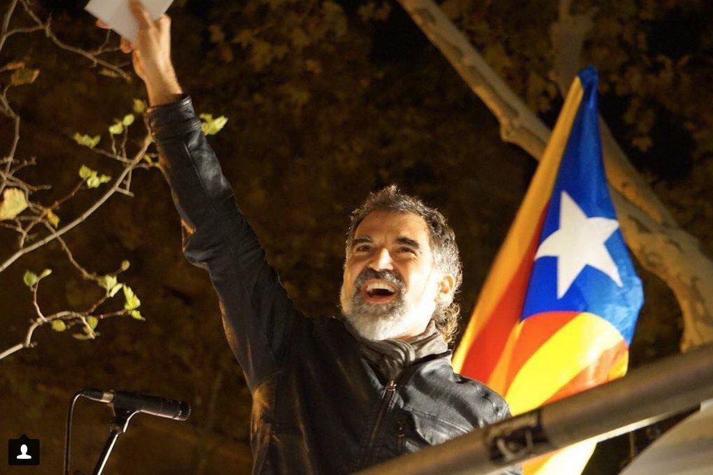 Jordi Cuixart, uno de los líderes independentistas en prisión. (Foto: Catalunyaplural.cat - Ómnium Cultural)
