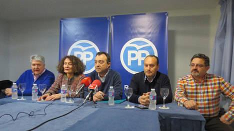 Manuel Cobo durante su visita a Ponferrada el pasado día 3 de diciembre. Foto: LNC