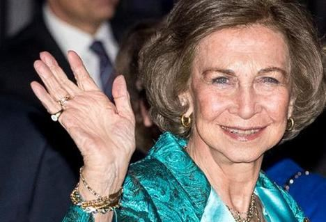 S.M. La Reina Sofía de España. (Foto: www.mujerhoy.com)