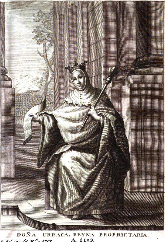 Doña Urraca, Reina de León y Castilla