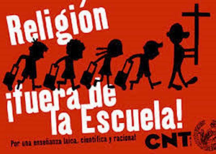 ¿Qué tiene de malo la asignatura de religión?