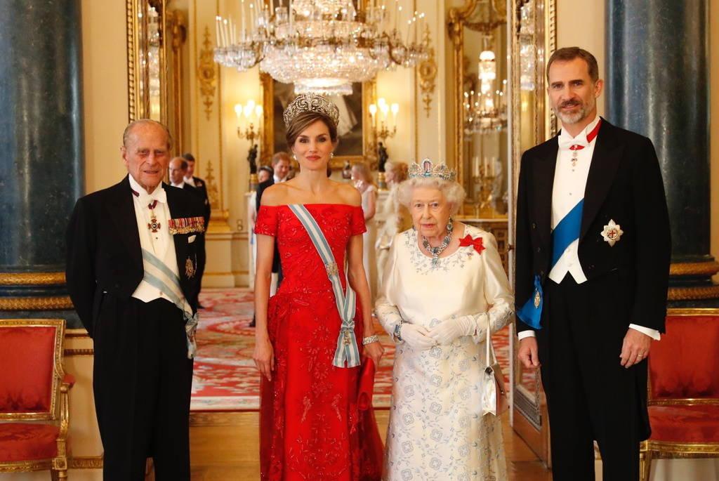 Viaje de estado de ss mm los reyes de espa a a reino - Casa de los reyes de espana ...