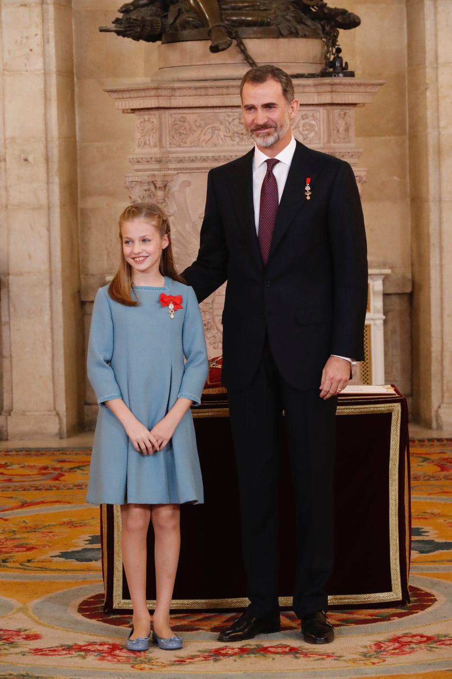 Su Majestad el Rey y Su Alteza Real la Princesa de Asturias © Casa de S.M. el Rey