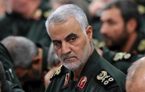 El general iraní Soleimani, muerto en un ataque estadounidense hace ya un año. (Foto: bbc.com)